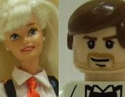 Lalki Barbie i Lego.